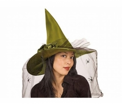 Hexenhut Esmeralda grün