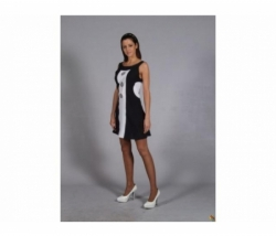 Kleid Black + White Gr. 36