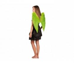 Federflügel grün