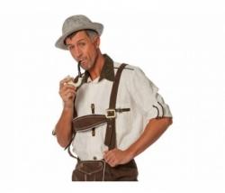 Tiroler Hemd écru Gr. 56