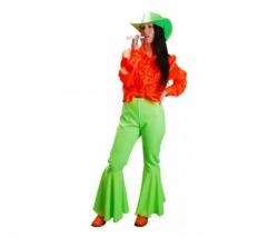 Hippie Hose neon grün Gr. 38