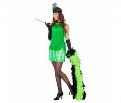 Charleston Kleid grün Gr. 42
