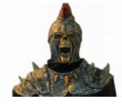 Maske Ritter mit Cape