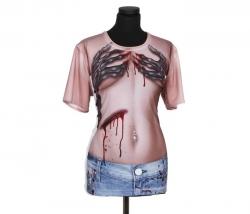 Shirt mit Wunden