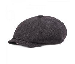 Schieber Mütze dunkelgrau