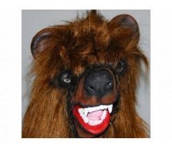 Maske Bär braun