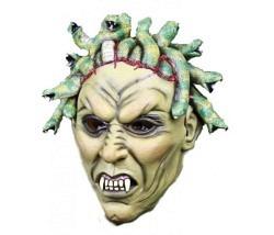 Maske Medusa Schlangen