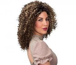 Perücke Afro Dame