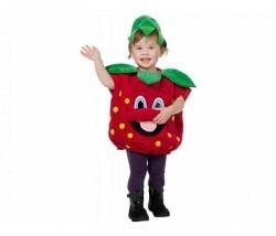 Erdbeere Baby Kostüm Gr. 92
